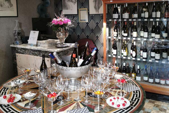 La boutique de vins